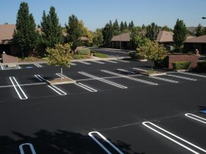New Parking Lot Paving job completed in Wilkes Barre, Pennsylvania